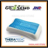Bantal Dingin Kepala Therapedic Anatomic Memory Foam Cool Gel Pillow
