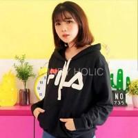 Fashion Cewek IMPORT Baju Cewek Sweater hodie FILA | jaket FILA