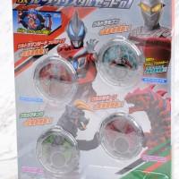 Bandai DX R/B Crystal Set 01 Ultraman R/B HENSHIN ROSSO BLUE