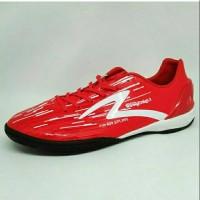Grosir Sepatu Futsal Specs Accelerator Lightspeed IN Red White Elegan