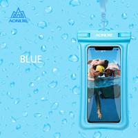 AONIJIE E4104 Phone Case Dry Bag - Tas Handphone Anti Air - BLUE