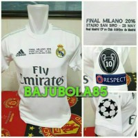 REAL MADRID HOME FINAL MILANO 2016 - S
