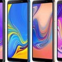 NEW PRODUK Samsung Galaxy A7 2018 4GB/64GB SM-A750 Smartphone - BLUE