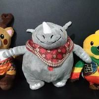 Paket 3 Boneka Maskot Asian Games