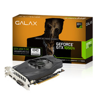 GALAX Geforce GTX 1050 Ti 4GB DDR5 - OC - Single Fan