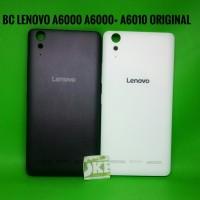 Back Cover Lenovo A6000 plus A6010 Original Tutup Baterai Lenovo A6000