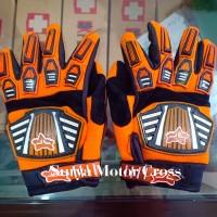 sarung tangan gloves motor cross trail fox untuk anak dan dewasa