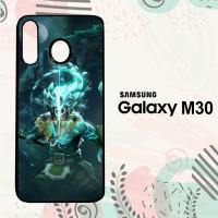 Casing Samsung Galaxy M30 HP Dota 2 Juggernaut Arcana LI0326