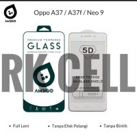 Tempered Glass Full 3D Oppo A37F Anti Gores Kaca Curved Warna