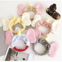 topi bandana dumbo gajah telinga anak dewasa bando karet rambut
