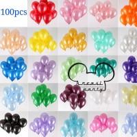 Balon Latex Metalik 1 Pack Isi 100 Pcs