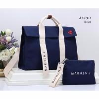 Marhen j roy with love / marhen j roy sign canvas korea bag
