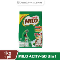 MILO ACTIV-GO 3 IN 1 Pouch 1 Kg