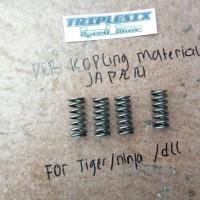 per pir kopling spring racing tiger original japan satu set isi 4 kom