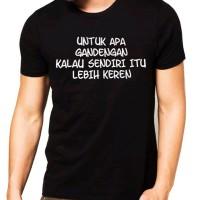 kaos/baju/t-shirt jomblo jomlo meme dagelan