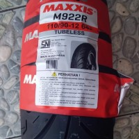 MAXXIS 110/90-12 M922 BAN MOTOR JET MATIC RING 12 TUBELES