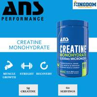 ANS Creatine Monohydrate 300gr ANS Creatine Monohydrate Micronized
