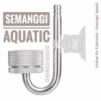 [ALUMUNIUM] Diffuser Co2 Aquascape / Atomizer Co2 / Diffuser Co2 METAL