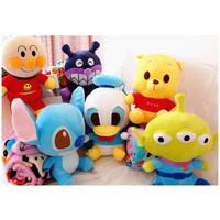 Bonmut Boneka Selimut Disney Sanrio Stitch Tsum Balmut Donald Pooh