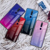 Gradient Glass Case OPPO F11 OPPOF11 & F11PRO PRO Back Cover Casing