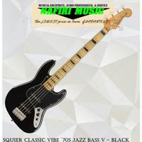 Squier Classic Vibe `70s Jazz Bass V - Black