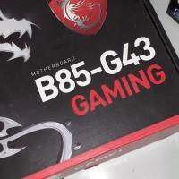MSI B85-G43 Gaming Motherboard Soket 1150 not Gigabyte Asus Asrock Z97