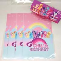 plastik snack little ponny / kantong snack ultah little ponny