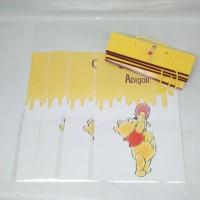 plastik snack winnie the pooh / kantong snack winnie the pooh