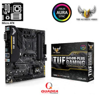 Asus TUF B450M-PLUS Gaming (AM4, AMD B450, DDR4, USB3.1, SATA3)