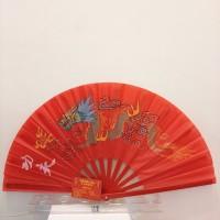 KIPAS TAICHI BAMBU MERAH / KIPAS CHINA