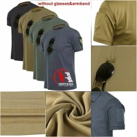 T-shirt O Neck Quickdry Tactical military outdoor