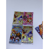 mainan anak animal kaiser evolution 10 trading card isi 50 premium