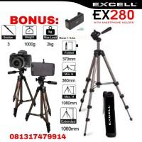 Tripod Excell EX280 Holder Hp EX 280 Smartphone Kamera Handphone 173a