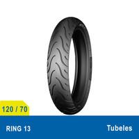 Ban Motor Depan Upsize Michelin Pilot Street 120/70 Ring 13 Tubeless