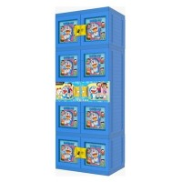 Lemari Plastik Gantung Jumbo Naiba Doraemon 3D - 1854 Drd Dijual