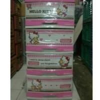 Lemari Plastik / Mini Container Napolly Hello Kitty Ssn 4 Best