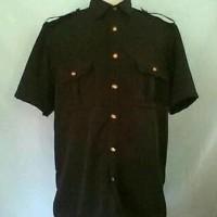 terkeren berkualitas Baju sapari satpam / bahan twis