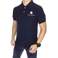 polo shirt logo apple bordir