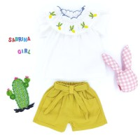Baju Dress Sabrina Girl Set Size M | Pakaian Anak Bayi Bagus dan Murah