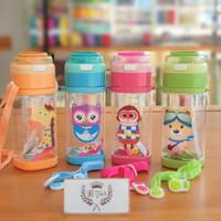 Botol air minum PLASTIK anak BPA Free 500 ml Animal