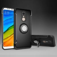 Armor I-Zore Magnetic Ring Hard Soft Case Casing Xiaomi Redmi 5 Plus