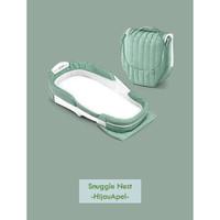 Kasur Portable Bayi Matras Bayi Alas Bayi Warna Hijau Apple