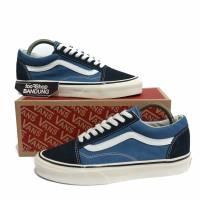Sepatu Vans Old Skool Blue Navy X Anaheim Factory 36-44 Premium Import