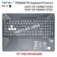 Keyboard Protector ASUS TUF Gaming FX505 KAKAY Premium TPU Clear LAR