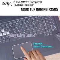 DIJUAL Touchpad Protector ASUS TUF Gaming FX505 DrSkin Translucent MA