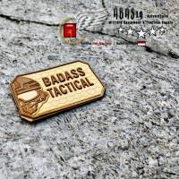 Patch Rubber Pvc Baddas Tactical
