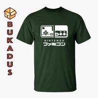 Kaos Famicom Switch | Baju Gamer Nintendo | Tshirt Big Size 4XL