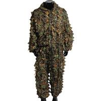 Ghillie Suit 3D Camo Hoodie Gili model celana baju Mossy Oak Kamuflase