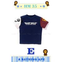 Tshirt BAPE E - Kaos Bape Anak Laki-Laki I mport