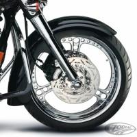 ARLEN NESS BIG-WHEELER FRONT FENDER ZODIAC Harley Davidson FLT